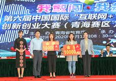 """青海分部在第六届中国国际 """"互联网+""""大学生创新创业大赛(青海赛区)总决赛中喜获佳绩"""
